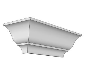 Crown georgian cornice